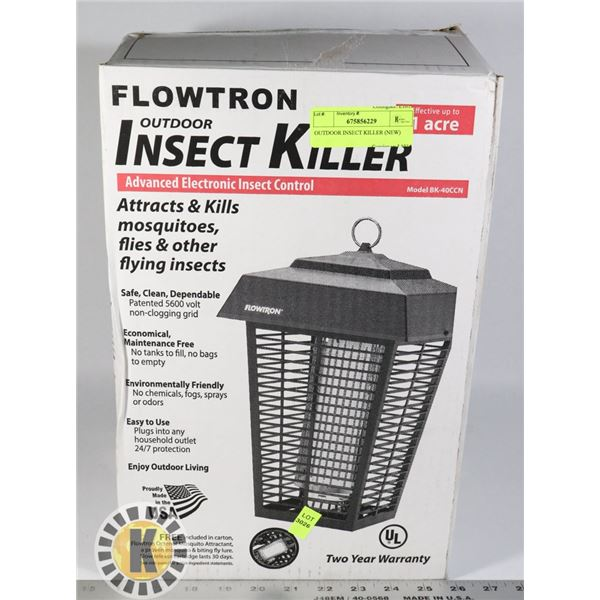 OUTDOOR INSECT KILLER (NEW)