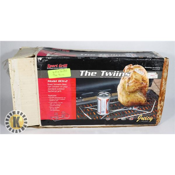 THE TWINS (NEW- DAMAGED BOX)