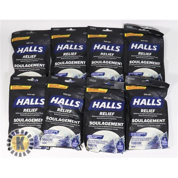 BAG OF HALLS LOZENGES