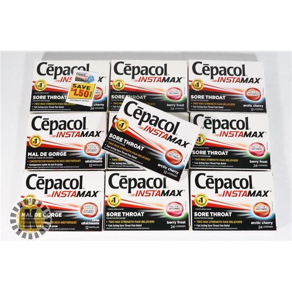BAG OF CEPACOL LOZENGES