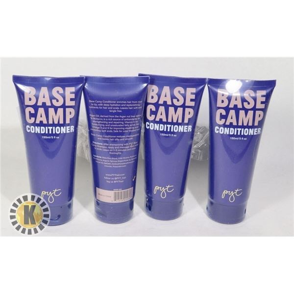 4 BASE CAMP CONDITIONER 150ML EACH