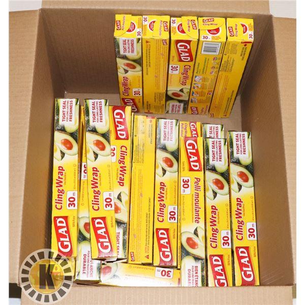 BOX OF GLAD WRAP