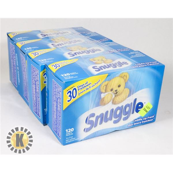 BUNDLE OF SNUGGLE DYER SHEETS
