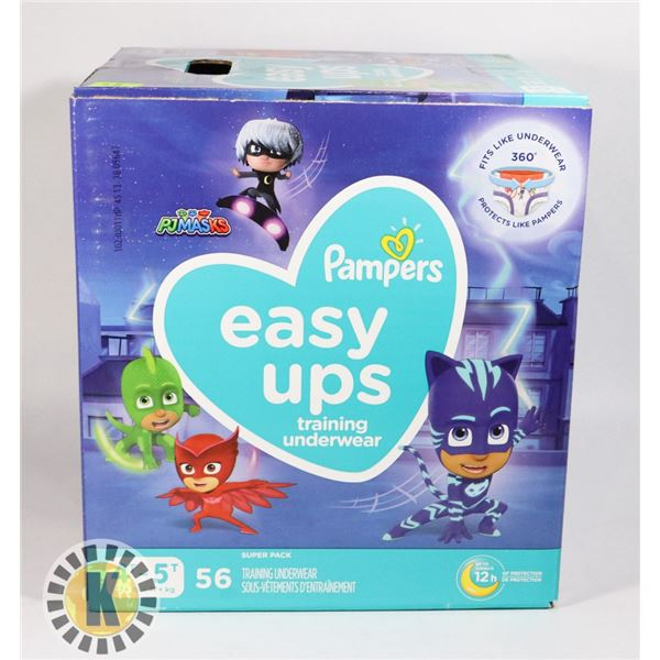 CASE OF PAMPERS EASY UPS SIZE 4T-5T