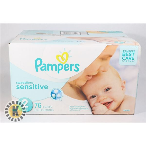 CASE OF PAMPERS SENSITIVE SIZE 2