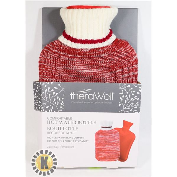 NEW THERAWELL HOT WATER BOTTLE (2L)
