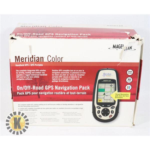 MAGELLAN MERIDIAN COLOR HANDHELD GPS