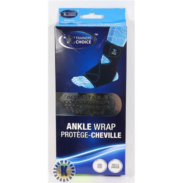 NEW ANKLE WRAP (ONE SIZE)