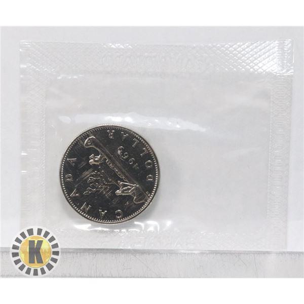 1969 MINT SEALED BU CANADA $1 DOLLAR COIN