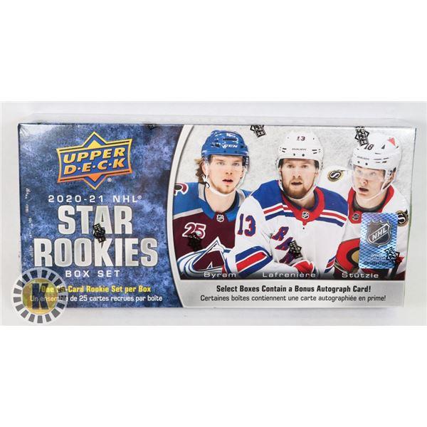 2020-21 UD NHL STAR ROOKIES BOX SET