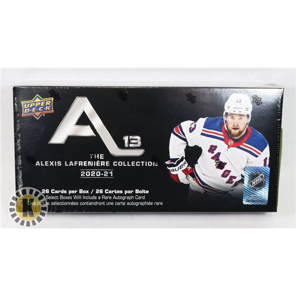 2020-21 UD NHL ALEXIS LAFRENIERE COLLECTION
