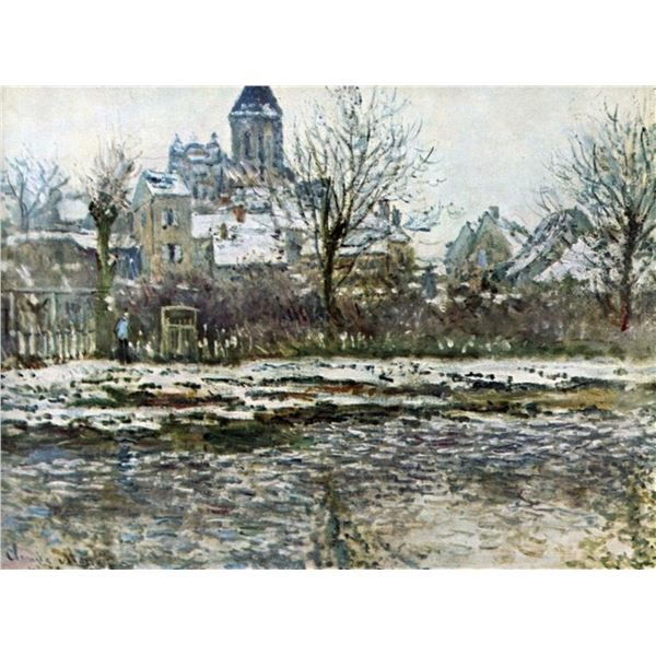 Claude Monet - Snow in Vetheuil