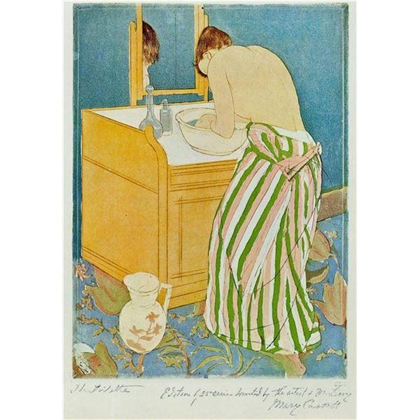 Mary Cassatt - The Toillette