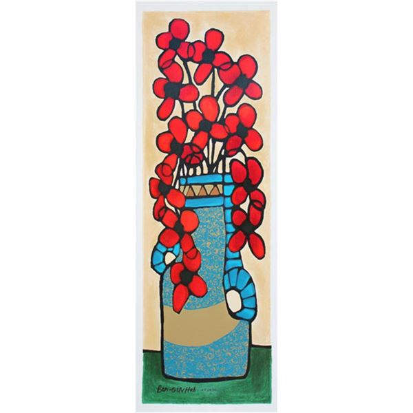Avi Ben-Simhon Red Blossoms I