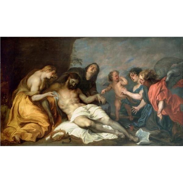 Van Dyck - Lamentation over the Dead Christ