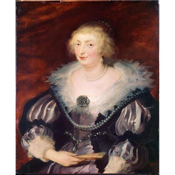 Sir Peter Paul Rubens - Portrait of a Lady