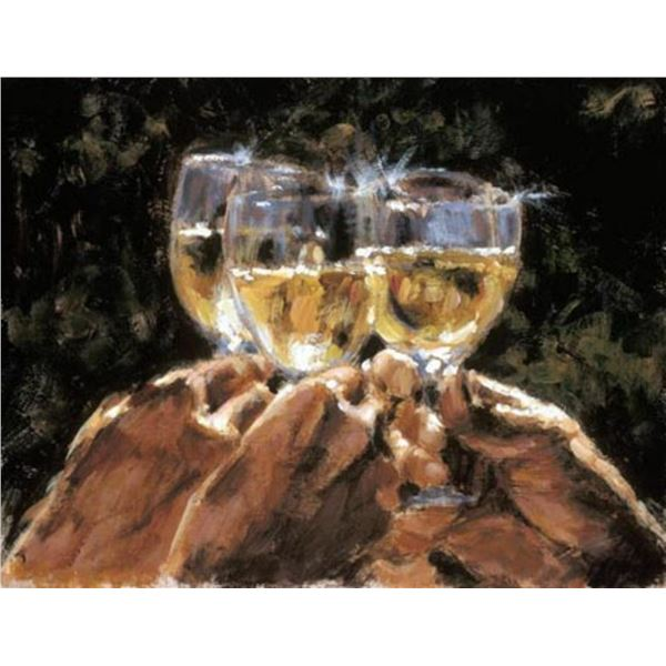Study for a Better Life White Wine by Fabian Perez
