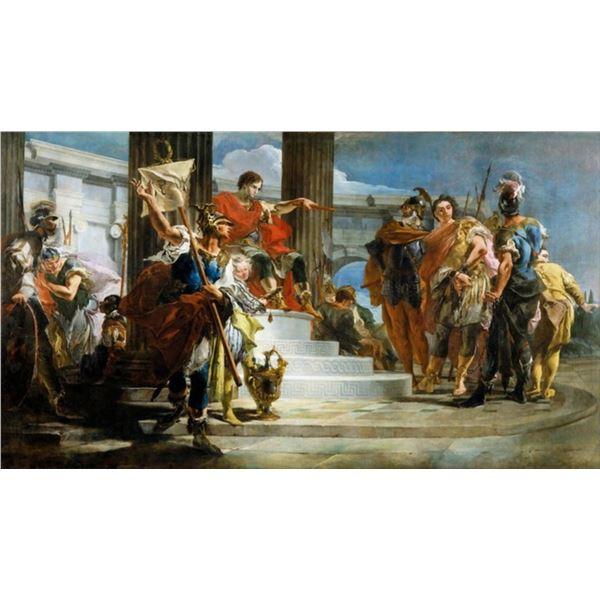 Tiepolo - Scipio Africanus Freeing Massiva