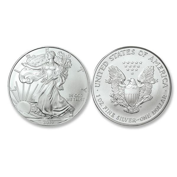 2019 American Silver Eagle .999 Fine Silver Dollar Coin