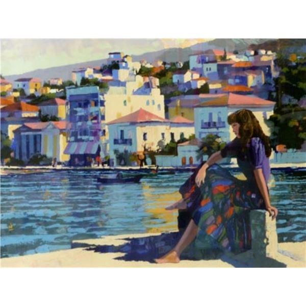 Grecian Harbor by Howard Behrens