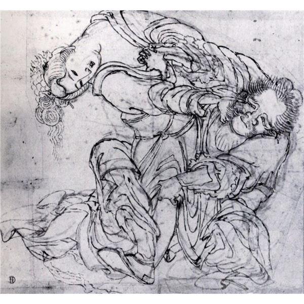 Hokusai - Suikoden Scene