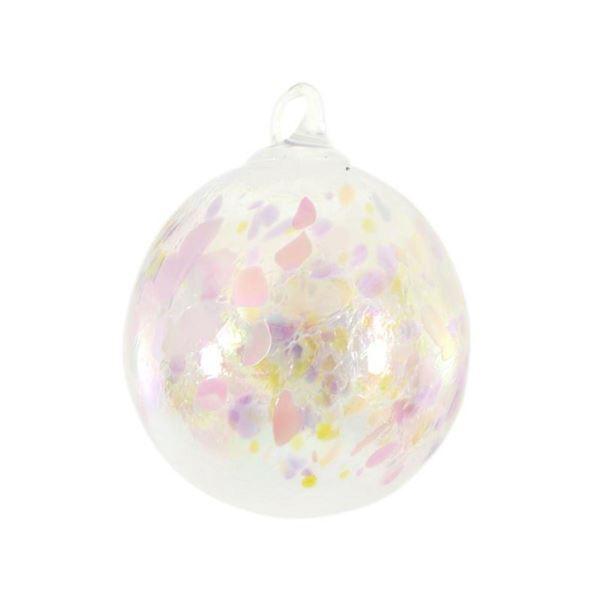 Ornament (Pink Champagne) by Glass Eye Studio