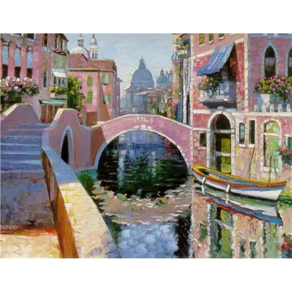 Reflections of Venice by Howard Behrens