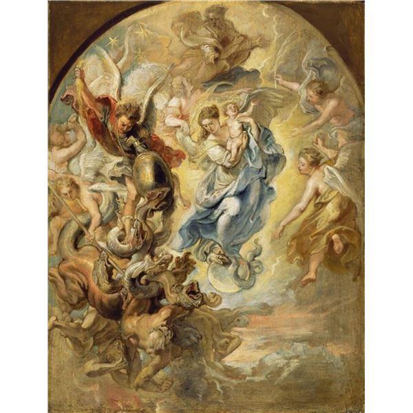 Sir Peter Paul Rubens - The Virgin as the Woman of the Apocalypse