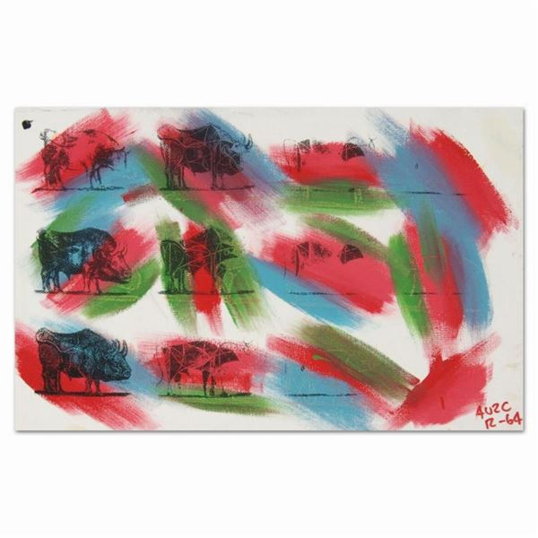 "Eleven Bulls (Picasso) by ""Ringo"" Daniel Funes"