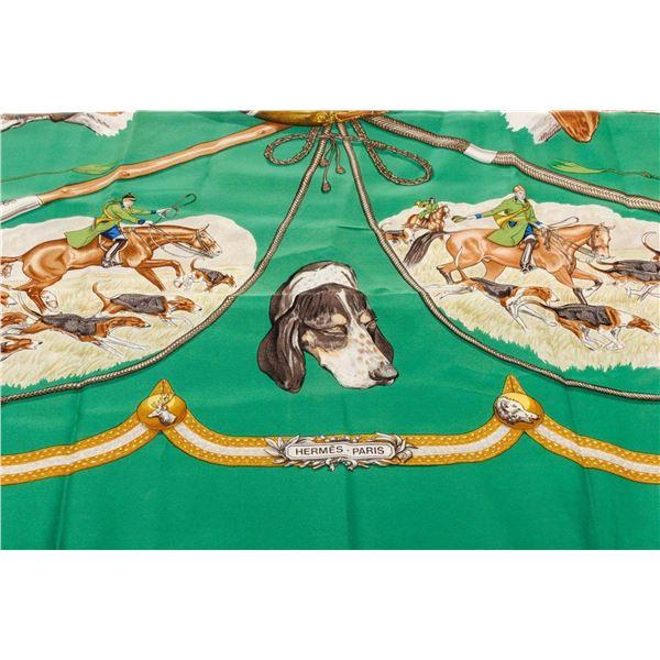 Hermes Multicolor Le Laisser Scarf