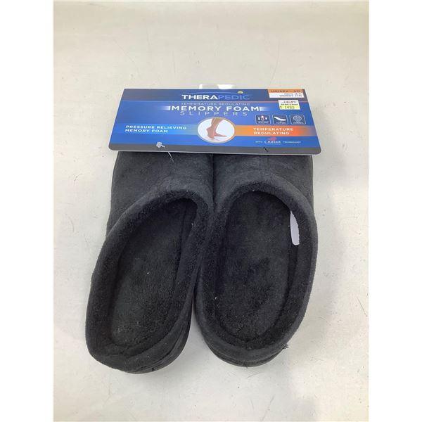 Therapedic Memory Foam Slippers