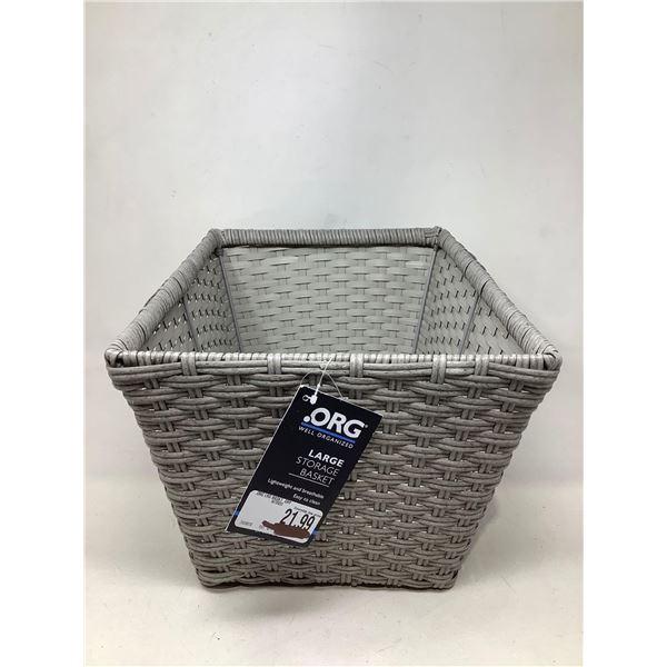 .Org Large Storage Basket