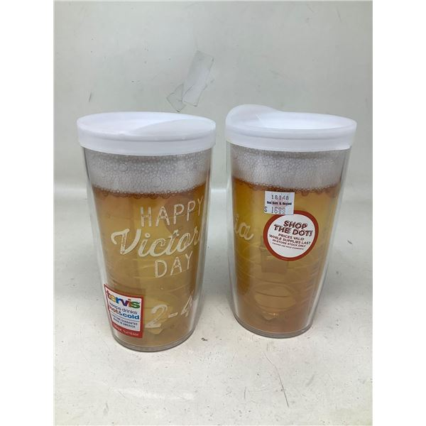 Tervis Hot & Cold Cups Lot Of 2