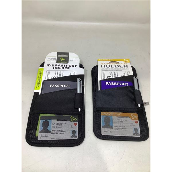 ID & Passport Holder Lot Of 2