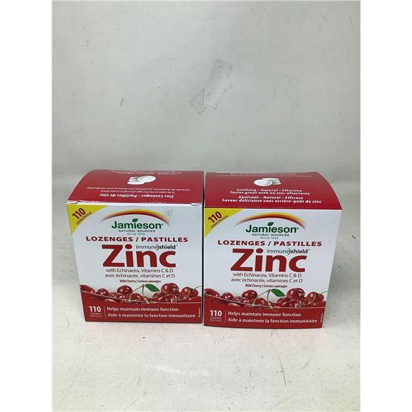 Jamiesons Zinc Lozenges (2 X 110 Lozenges)