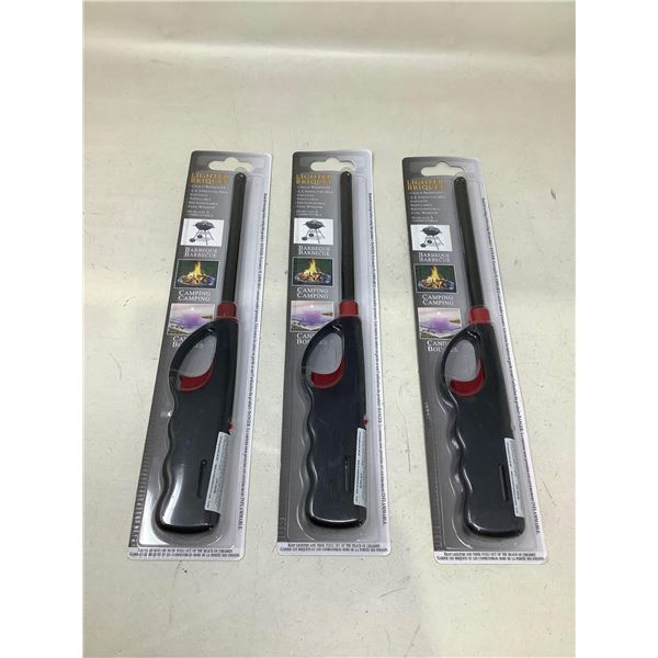 BBQ Lighters Lot Of 3