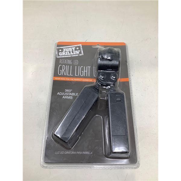 Rotating LED Grill Light