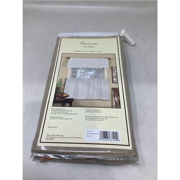 MaisonOne Valance Curtain