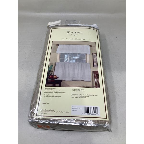 MaisonTier Pair Curtain