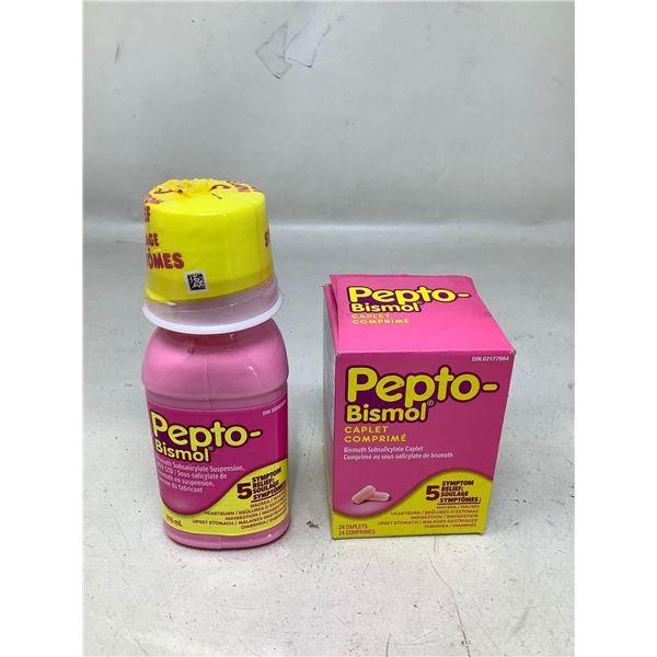 Pepto-BismolChews And Liquid