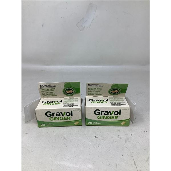 Gravol Ginger (2 X 20 Tabs)