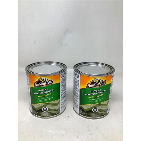 Armor All Copper II Wood Preservative Green Solution (2 X 946ML)