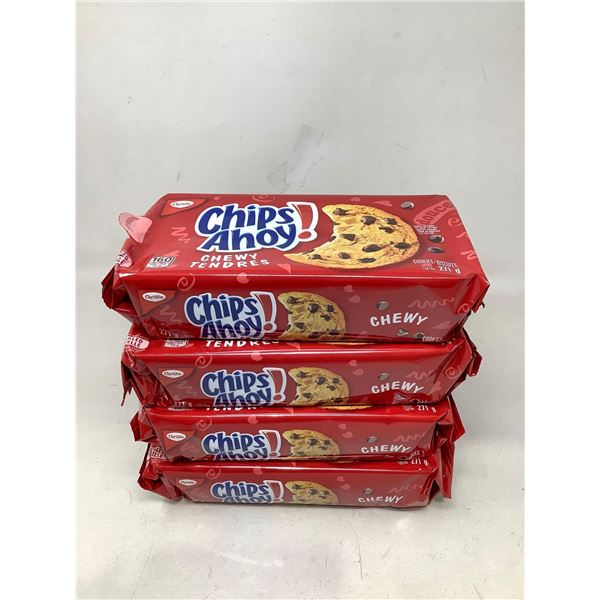 Chips Ahoy! Chewy Cookies Lot Of 4