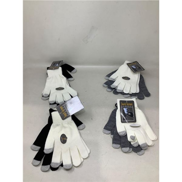 Lot Of Assorted Touch Screen Gloves