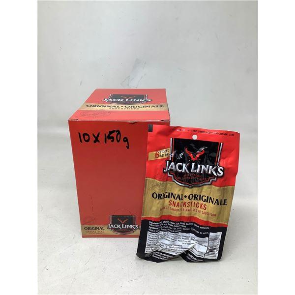 Jack Links Original Snack Sticks (10 X 150G)