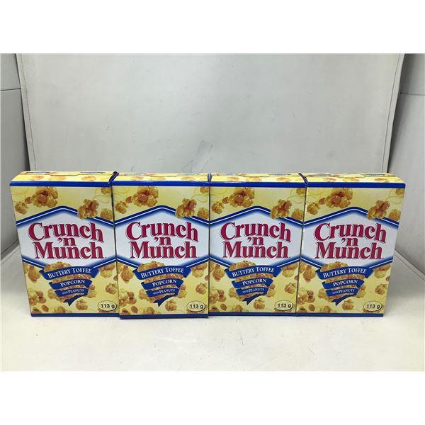 Crunch n Munch Buttery Toffee Popcorn (4 X 113G)