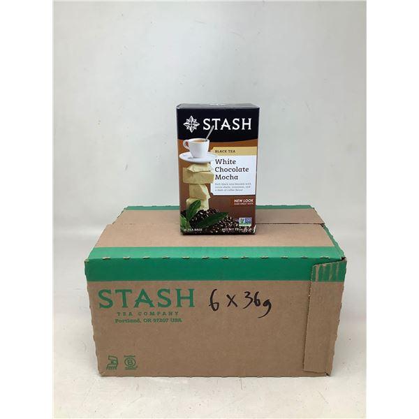 Stash Black Tea White Chocolate Mocha (6 X 36G)