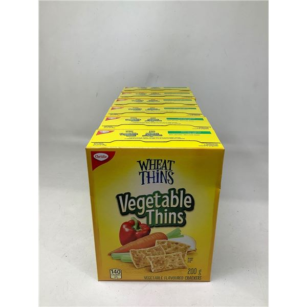 Wheat Thins Vegetable Thins (6 X 200G)