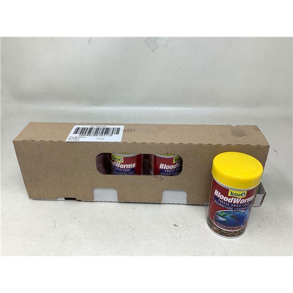 Tetra Blood Worms Freeze Dried Food (6 X 100ML)