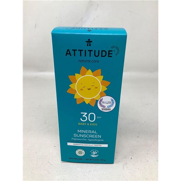 Attitude Mineral Sunscreen For Babys And Kids